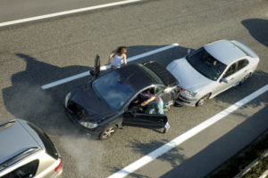 Rear-end car accidents in Nevada